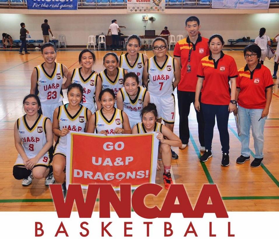 The UA&P Women's Basketball Team © Juan Santos