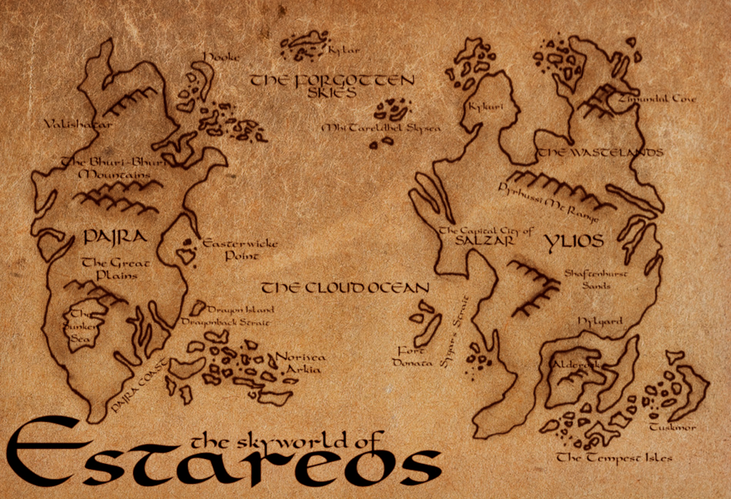 A map of the floating world, Estareos.