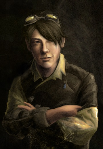 The novel's main protagonist, Keith Asral.
