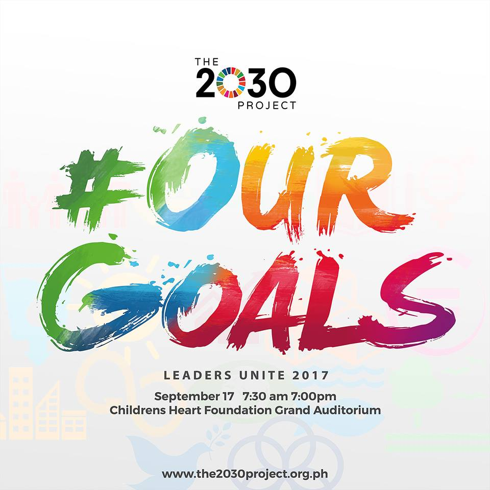 Change Starts with You: UA&P Joins The 2030 Project